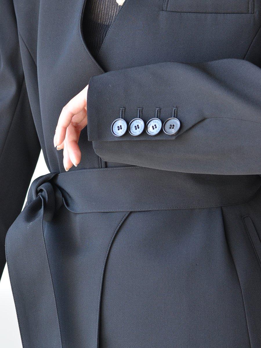 AKIRA NAKA Lily wrap belt Jacket