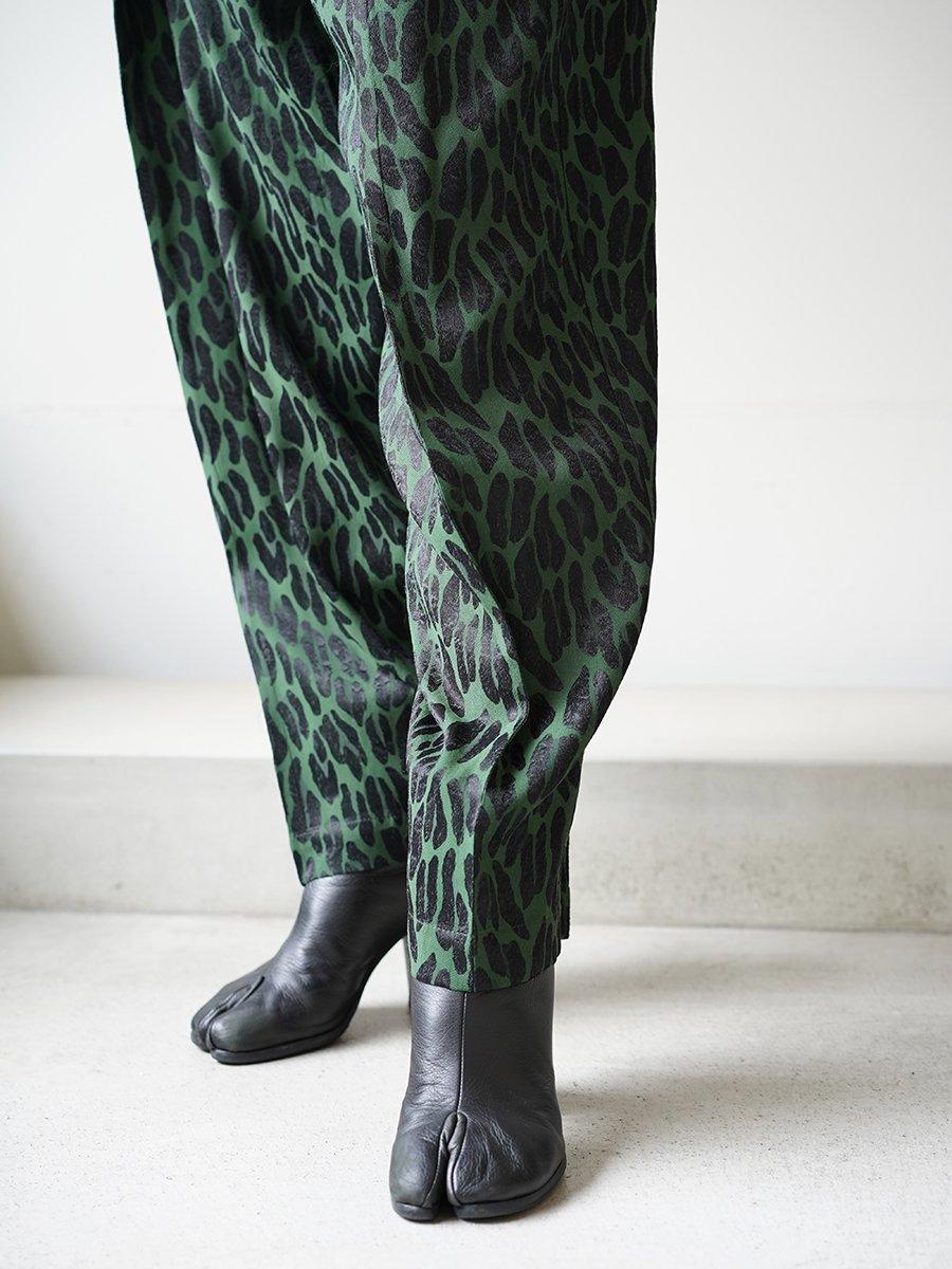 TOGA PULLA Acetate rayon jacquard pants