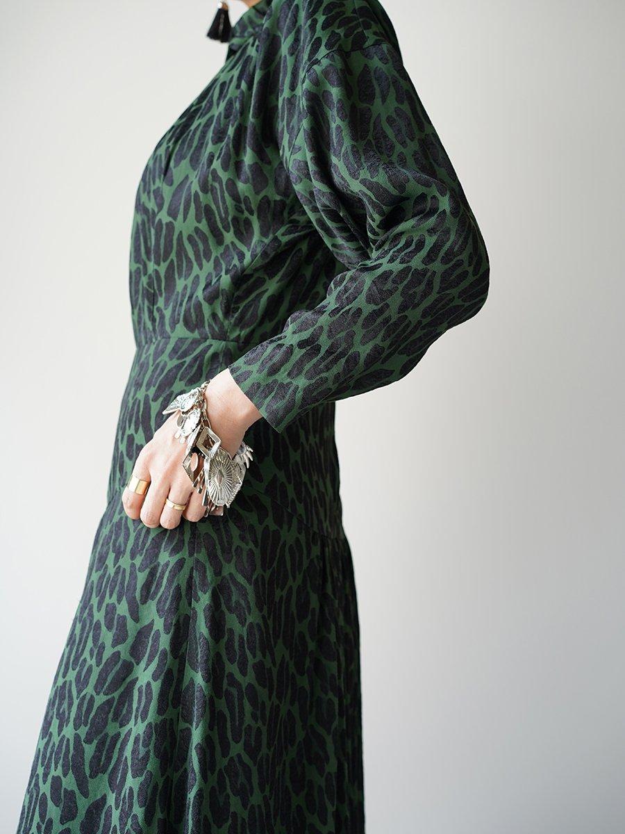 TOGA PULLA Acetate rayon jacquard dress