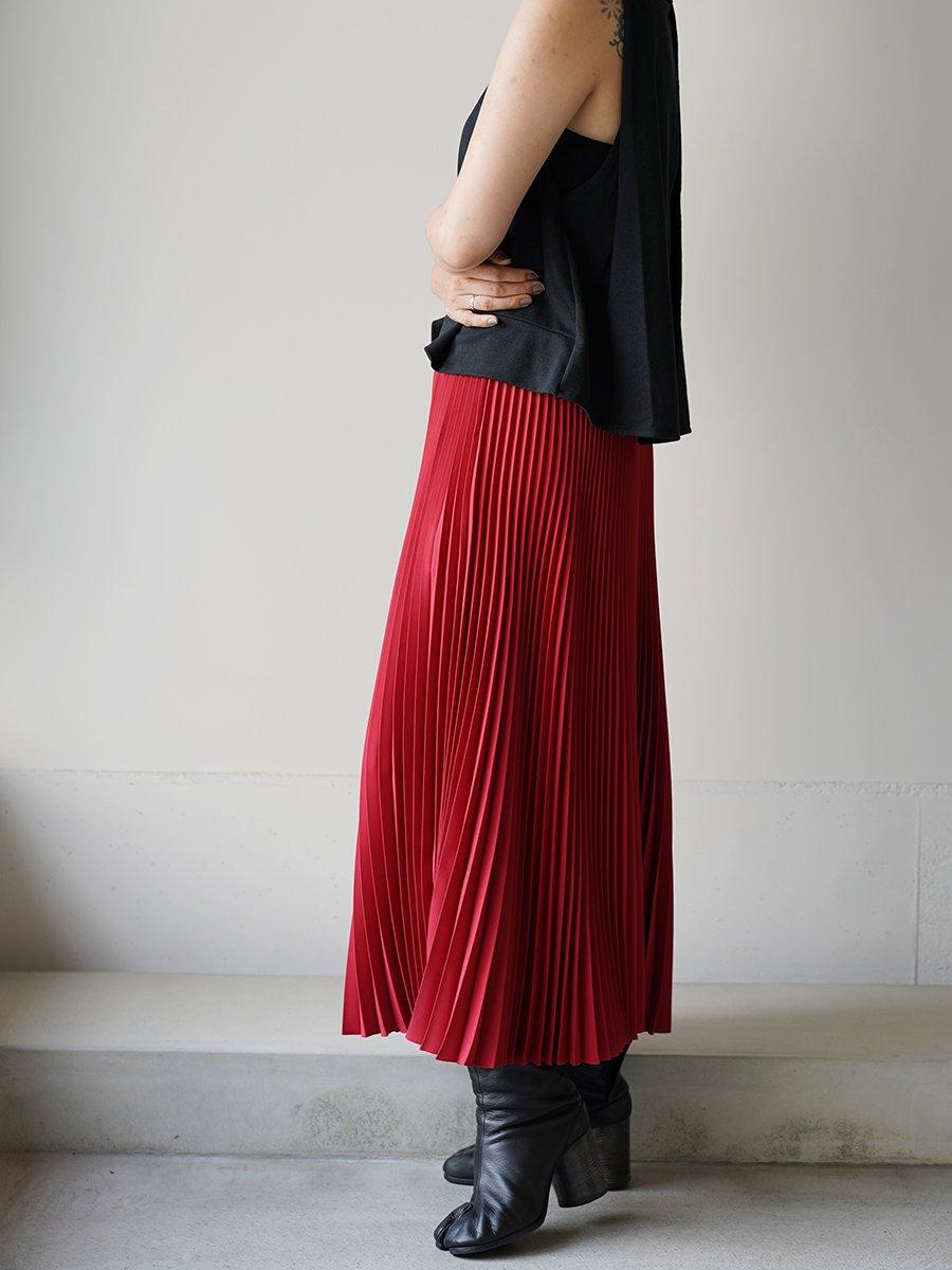 Graphpaper Satin Pleats Skirt