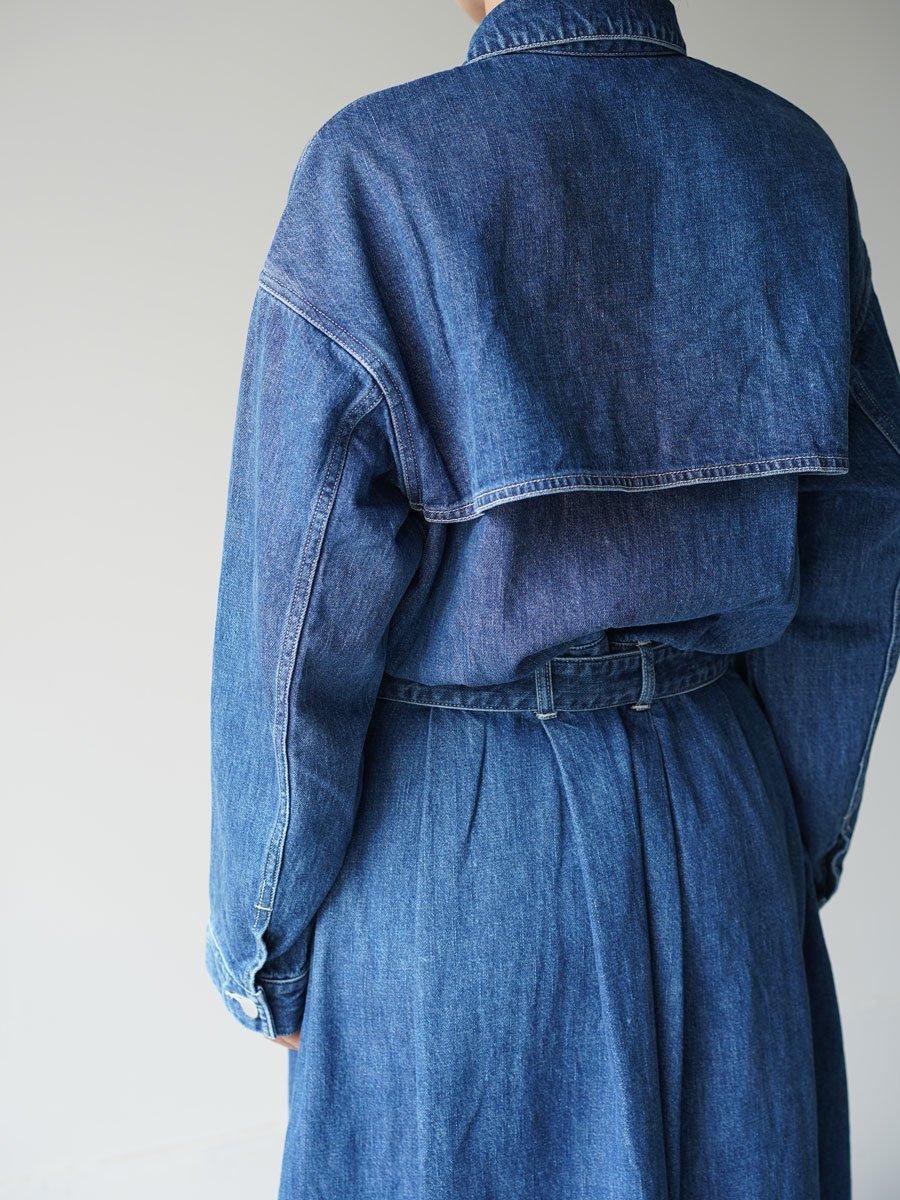 Graphpaper Belted Denim Dress