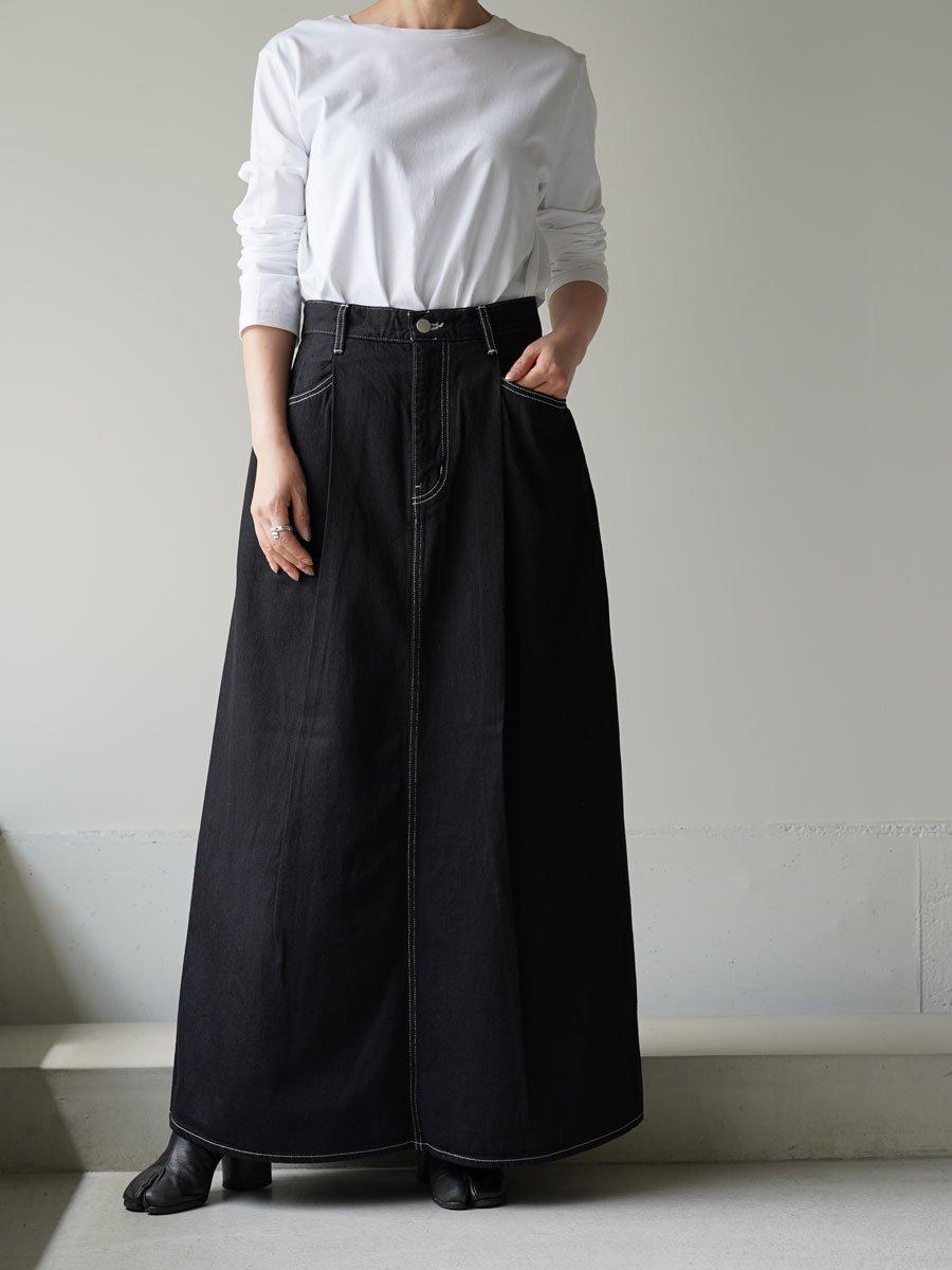 Graphpaper Denim Skirt