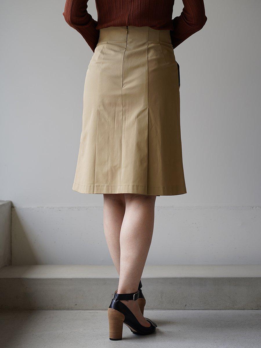 MameKurogouchi High Waisted Chino Skirt