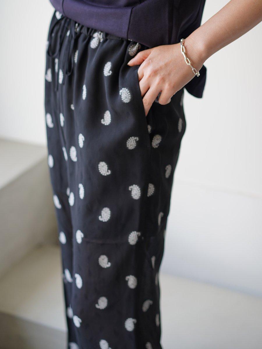 MameKurogouchi Paisley Jacquard Trousers