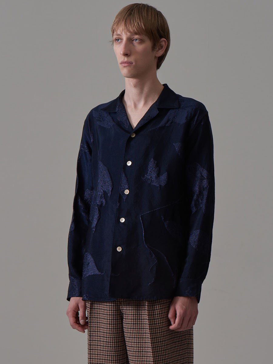 BED j.w. FORD Open color shirts jacquard pattern