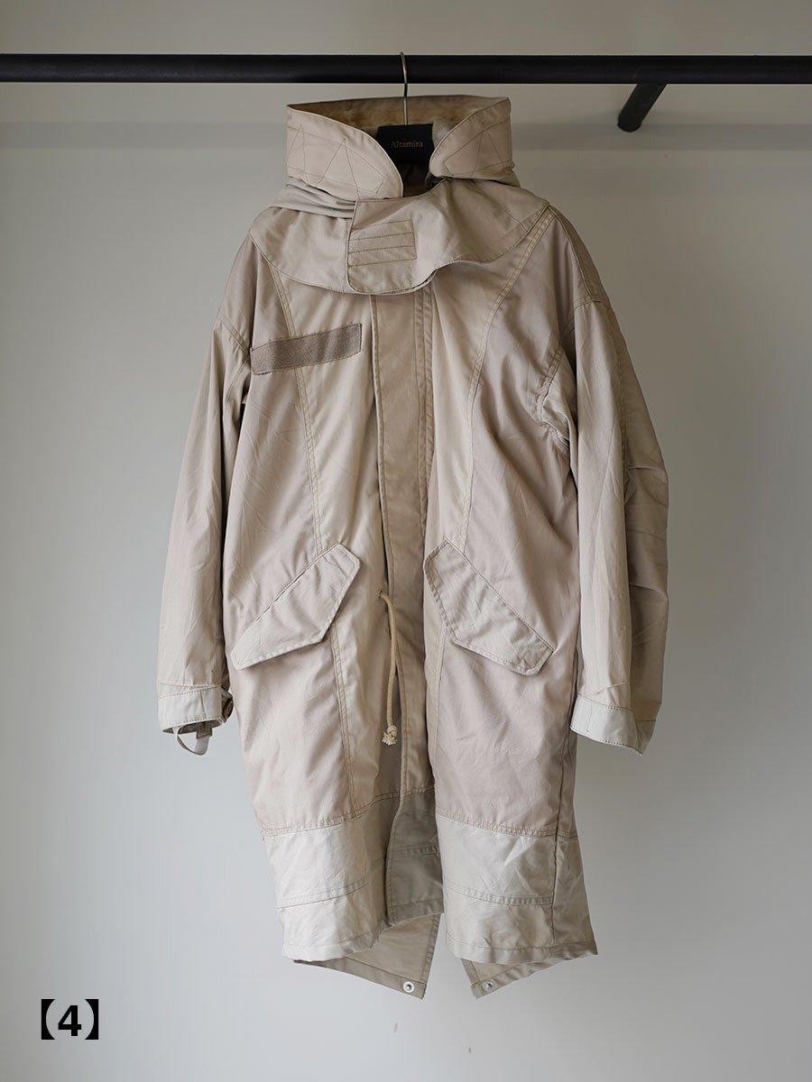 SEEALL RECONSTRUCTED MILITARY PARKA size 1