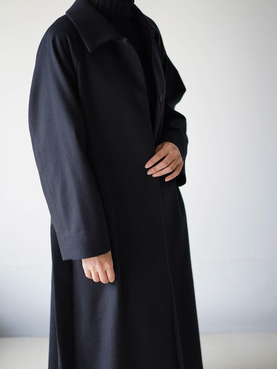 Graphpaper Wool Beaver Belted Coat