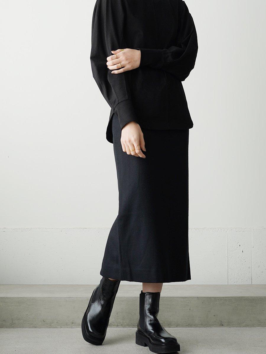 Graphpaper Wool Beaver Tight Skirt