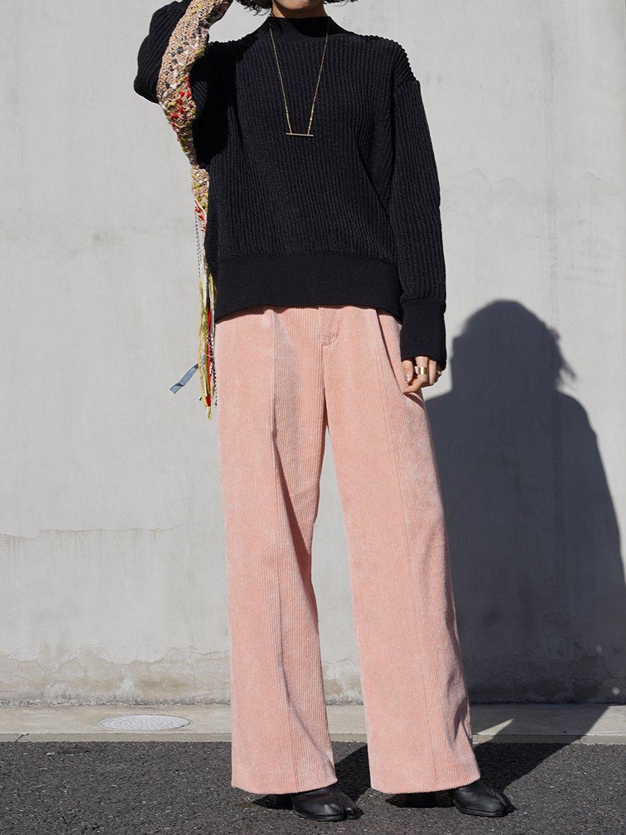 AKIRA NAKA Adora corduroy pants