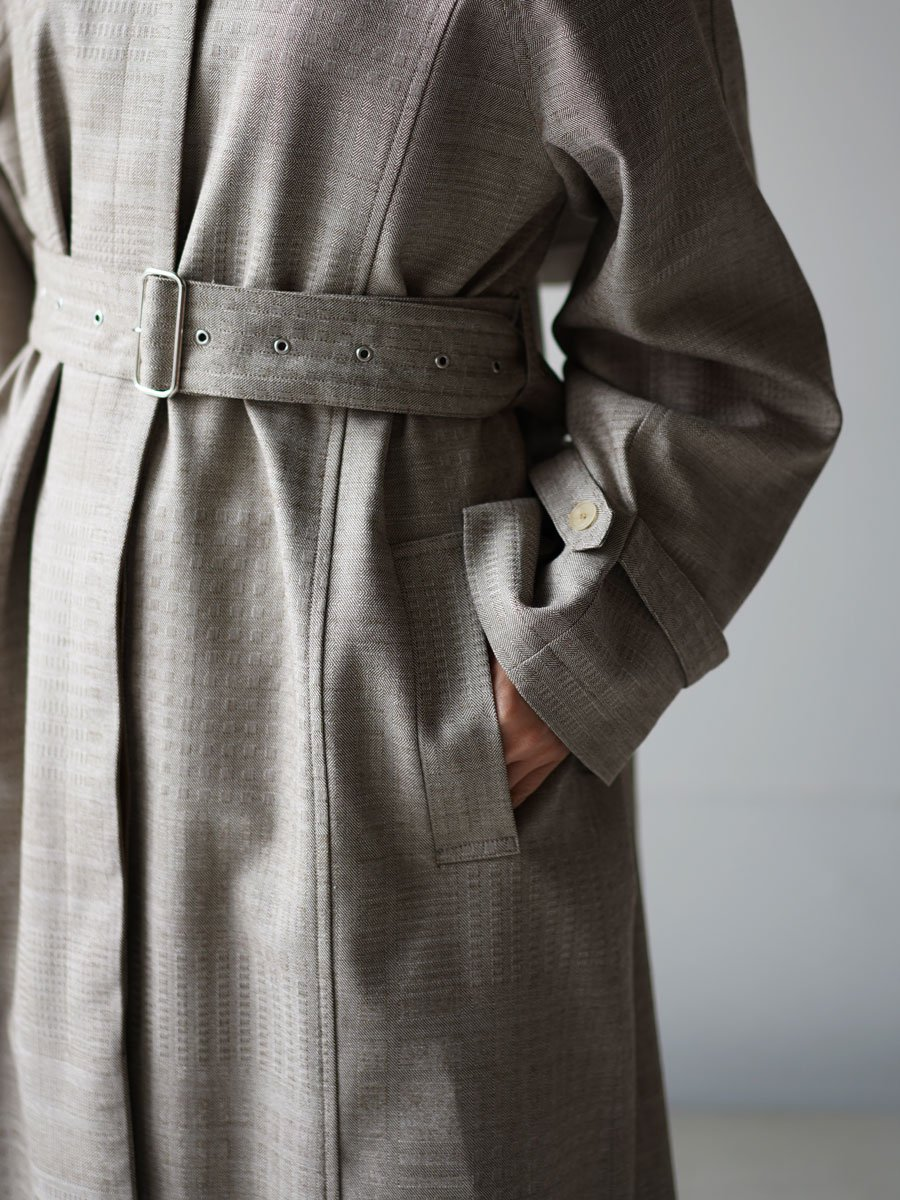 SEEALL HOODED TRENCH