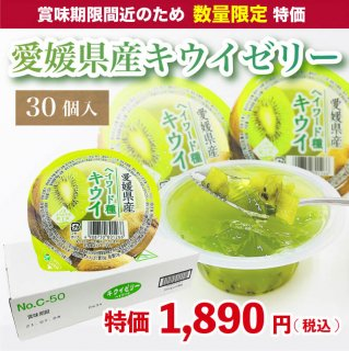 【数量限定】愛媛県産キウイゼリー 120g×30個入