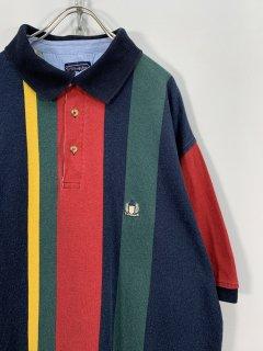 "1990's ""Bridgewater"" Stirpe Polo Shirt"