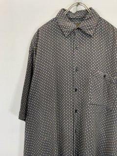 """""""UTOPIA"""" S/S Pattern Shirt [Rayon]"""
