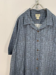 """L.L.Bean"" S/S Pattern Shirt"
