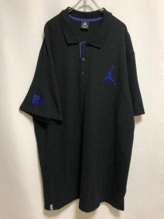 """JORDAN"" One Point Polo Shirt [Blue]"