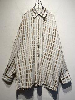 "1990's "" Bassiri"" L/S Design Shirt"