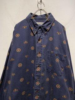 """BUGLE BOY"" L/S Pattern Shirt"