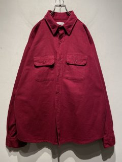 """FIVE BROTHER"" L/S Chamois Cloth Shirt 「Made in U.S.A.」"