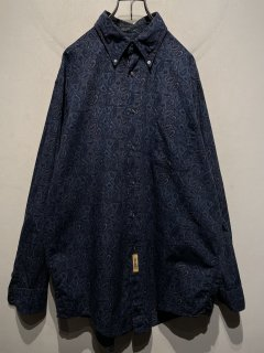 """B.D BAGGIES"" L/S Paisley Pattern Shirt 「Made in U.S.A.」"