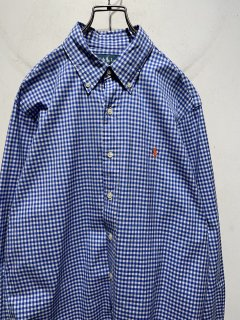 """Ralph Lauren"" L/S B.D Check Shirt"