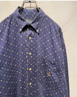 """IVY CREW"" L/S Pattern Shirt"