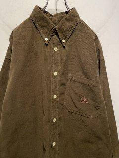 """""""AIGNER"""" L/S Corduroy Shirt"""