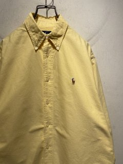 """Ralph Lauren"" L/S  B.D Shirt 「yellow」"