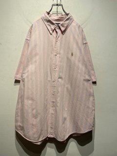 """""""Ralph Lauren"""" S/S One Point Stripe Shirt"""