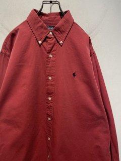 """""""Ralph Lauren"""" L/S B.D Shirt 「Salmon Pink」"""