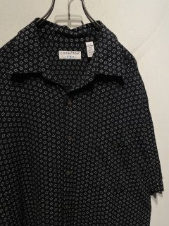 """COVINGTON"" S/S Pattern Rayon Shirt"