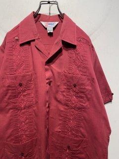 "1980's ""ROMANI"" S/S Cuba Shirt"