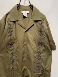 "1990's ""Tropical Breeze"" S/S Cuba Shirt"
