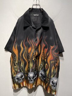 """""""INDUSTRY SUPPLY"""" Fire Pattern Shirt"""