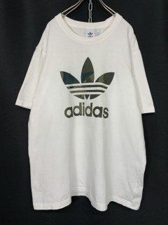 """""""adidas"""" Print Tee WHITE XL"""