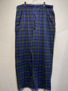 """FADED CLORY"" Easy Check Pants"