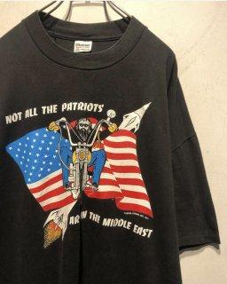 """1990's  """"CUSTOM CHROME"""" Print Tee 「Made in U.S.A.」"""