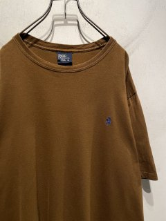 """Ralph Lauren"" Embroidered One Point Tee 「BROWN」"