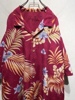 """Tommy Bahama"" S/S Hawaiian Shirt 「Silk 100%」"