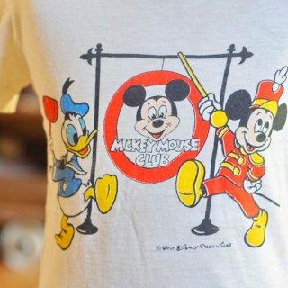 ヴィンテージミッキーマウスクラブキッズTシャツ