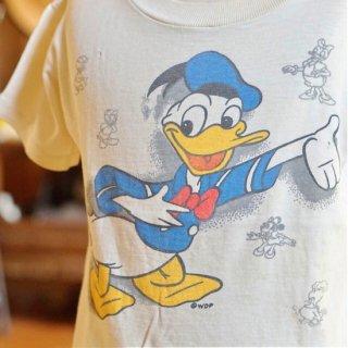 ヴィンテージドナルドダックキッズTシャツ