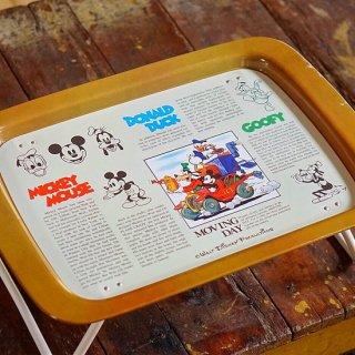 ヴィンテージディズニー折り畳みテーブル