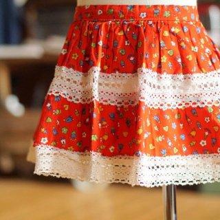 ヴィンテージ花柄スカート