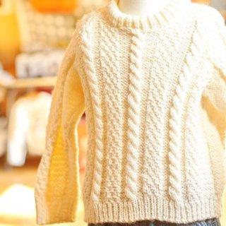 ヴィンテージキッズアランニットセーター