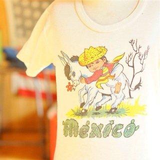 ヴィンテージキッズメキシコ柄Tシャツ