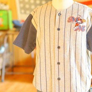 ヴィンテージミッキーマウスベースボールシャツ