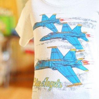 ヴィンテージブルーエンジェルスキッズTシャツ