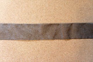 【リボン】メーター売り*黒 オーガンジー リボン 幅5cm