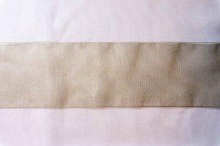 【リボン】メーター売り*モスグリーン オーガンジー リボン 幅8cm