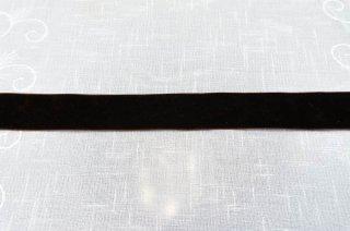 【リボン】メーター売り*茶 ダークブラウン ベロアリボン 幅4cm