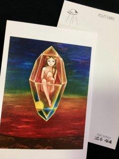 【印刷物】澁谷瑠璃「幻想少女ポストカード」7枚セット